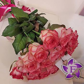 21 roses with delivery in Odessa
