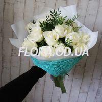 15 white roses - Photo 1
