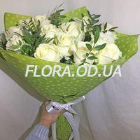 15 white roses - Photo 2
