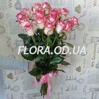 15 импортных розовых роз - Фото 1