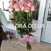 15 импортных розовых роз - Фото 2