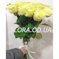 25 білих троянд в букеті - Фото 1