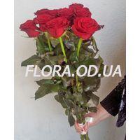 Букет из 11 красных роз 70 см - Фото 3