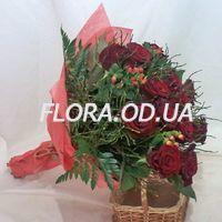 Букет из 15 красных роз - Фото 1