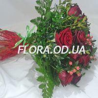 Букет из 15 красных роз - Фото 2