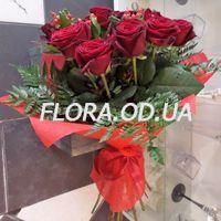 Букет из 15 красных роз - Фото 3