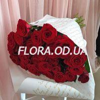 Букет из 29 красных роз - Фото 1