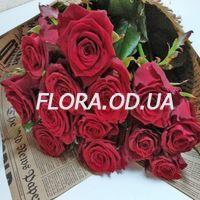 Букет 15 красных роз - Фото 5