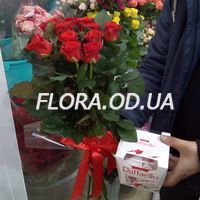 Bouquet of 11 roses - Photo 11