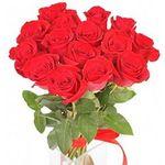 15 роз - цветы и букеты на flora.od.ua