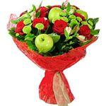 Букеты из фруктов - цветы и букеты на flora.od.ua