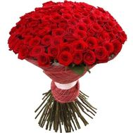 """101 red roses 70 cm"" in the online flower shop flora.od.ua"
