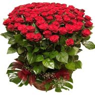 """101 red roses 80 cm"" in the online flower shop flora.od.ua"