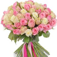 101 roses 70 cm - flowers and bouquets on flora.od.ua