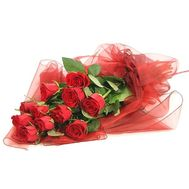 11 import roses - flowers and bouquets on flora.od.ua