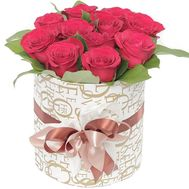 """11 roses in a box"" in the online flower shop flora.od.ua"