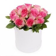 15 roses in a box - flowers and bouquets on flora.od.ua