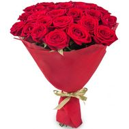 25 red roses - flowers and bouquets on flora.od.ua