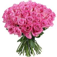 """51 pink roses 60 cm"" in the online flower shop flora.od.ua"