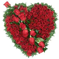 75 red roses - flowers and bouquets on flora.od.ua