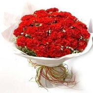 """Large bouquet of carnations"" in the online flower shop flora.od.ua"