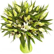 Big bouquet of lilies - flowers and bouquets on flora.od.ua
