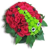 """Ladybug of flowers"" in the online flower shop flora.od.ua"
