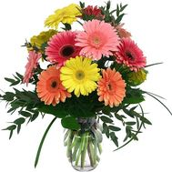 Bouquet of 11 gerberas - flowers and bouquets on flora.od.ua
