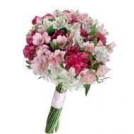 Bouquet of 15 alstromeries - flowers and bouquets on flora.od.ua