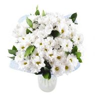 Bouquet of 15 chrysanthemums - flowers and bouquets on flora.od.ua