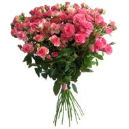 Bouquet of 15 roses spray - flowers and bouquets on flora.od.ua
