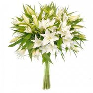 Bouquet of 15 lilies - flowers and bouquets on flora.od.ua