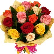 Bouquet of different color roses - flowers and bouquets on flora.od.ua