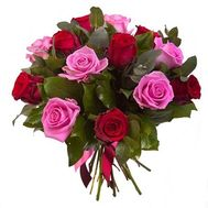 Bouquet of 15 roses - flowers and bouquets on flora.od.ua