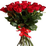 Bouquet of 17 red roses - flowers and bouquets on flora.od.ua