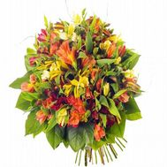 Bouquet of 19 alstromeries - flowers and bouquets on flora.od.ua