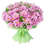 Букет з 19 хризантем - цветы и букеты на flora.od.ua