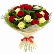 Bouquet of 19 roses - flowers and bouquets on flora.od.ua