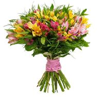 Bouquet of 21 alstroemerias - flowers and bouquets on flora.od.ua