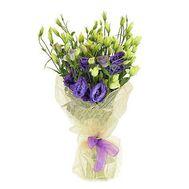 Букет из 21 эустомы - цветы и букеты на flora.od.ua