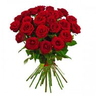 Bouquet of 21 Red roses - flowers and bouquets on flora.od.ua