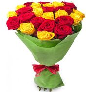 Bouquet of 21 roses - flowers and bouquets on flora.od.ua