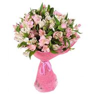 Bouquet of 23 alstromeries - flowers and bouquets on flora.od.ua