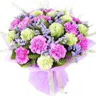 """Bouquet of 23 carnations"" in the online flower shop flora.od.ua"