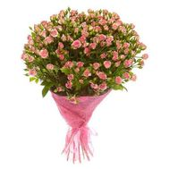 Bouquet of 25 roses spray - flowers and bouquets on flora.od.ua