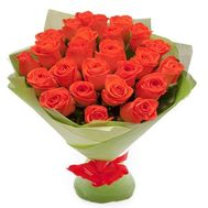 Bouquet of 25 roses - flowers and bouquets on flora.od.ua