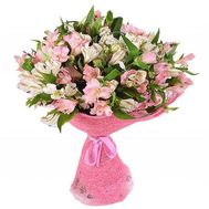 Bouquet of 27 alstromeries - flowers and bouquets on flora.od.ua