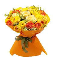 Bouquet of 31 Ranunculus - flowers and bouquets on flora.od.ua