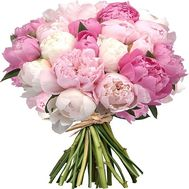 """Bouquet of 35 import peonies"" in the online flower shop flora.od.ua"