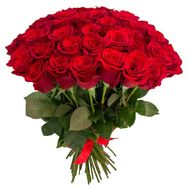Bouquet of 45 imported roses - flowers and bouquets on flora.od.ua